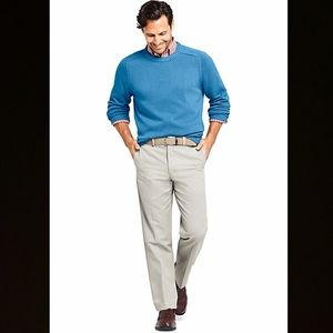 🍁🍂Men's Traditional Fit No Iron Chino Pants